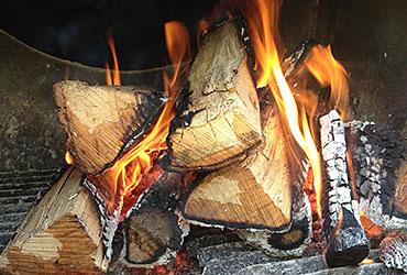 Love and Smoke Barbecue firebox